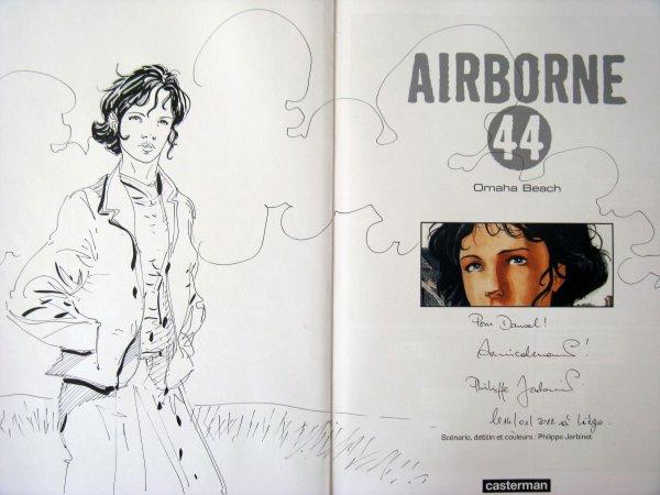 Philippe Jarbinet. Airborne 44 ( dédicace album 3 ).