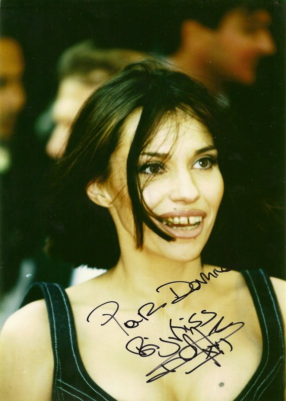 Béatrice Dalle.