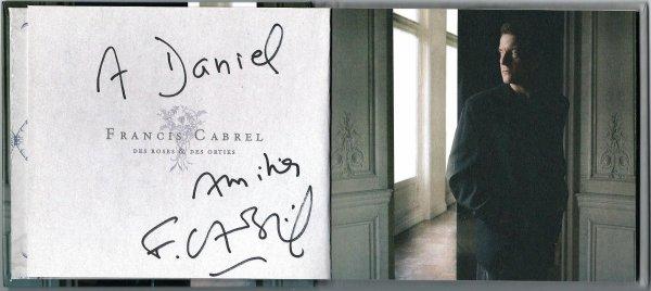 Francis Cabrel.