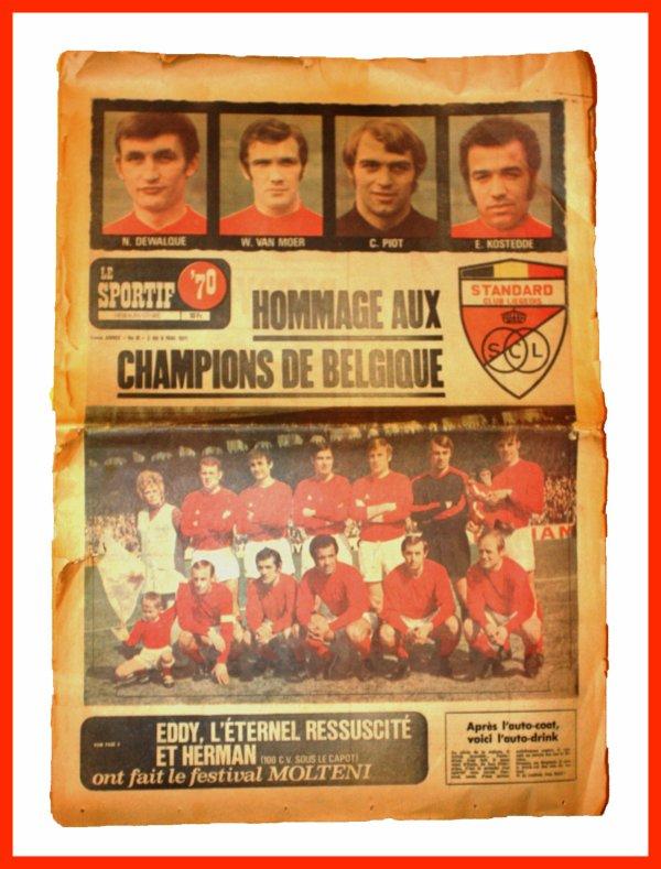 Anciennes gloires Royal Standard de Liège.
