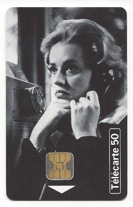 Jeanne Moreau.