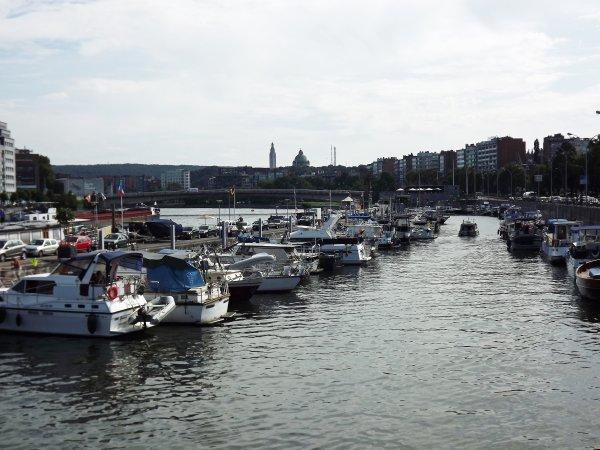 Liège - Le port des yachts.