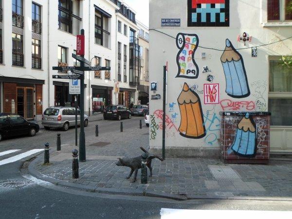 Le Zinneke-Pis - Bruxelles.
