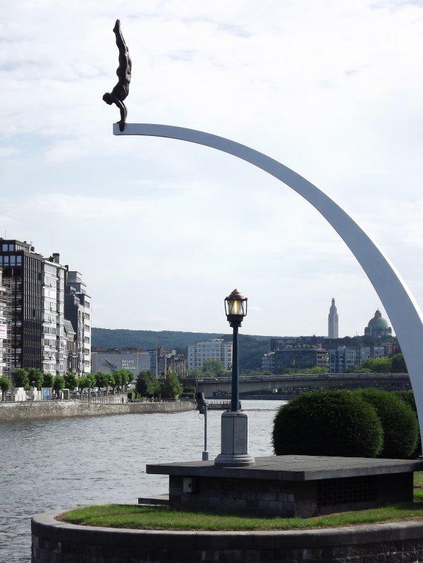 Le plongeur - Liège.