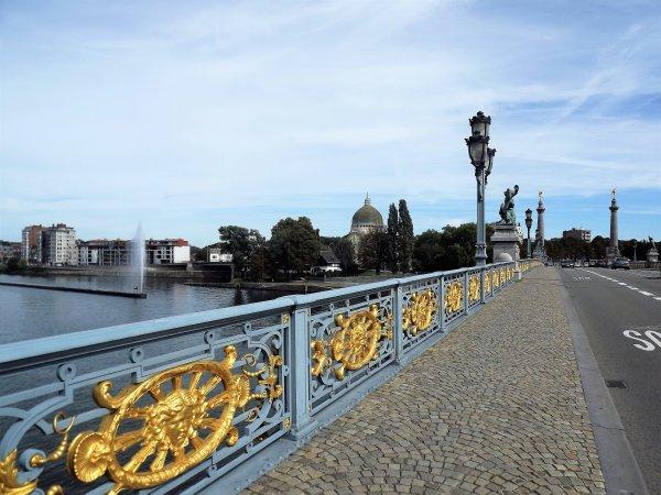 Liège - le pont de Fragnée.