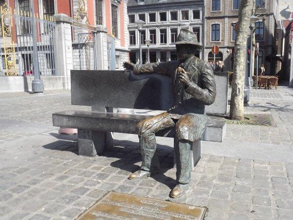 Georges Simenon - Liège.