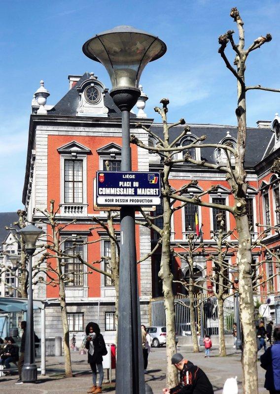 Place du commissaire Maigret - Liège.