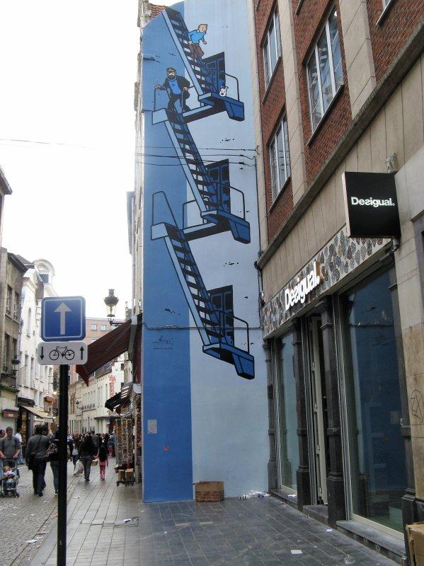 Bruxelles et la BD.