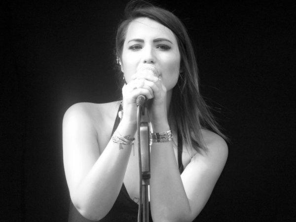 Julie Carpino - The Voïce Belgique 2014.