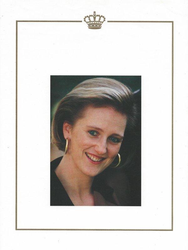 La Princesse Astrid de Belgique.