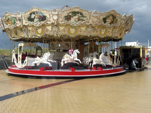 Carrousel ancien.