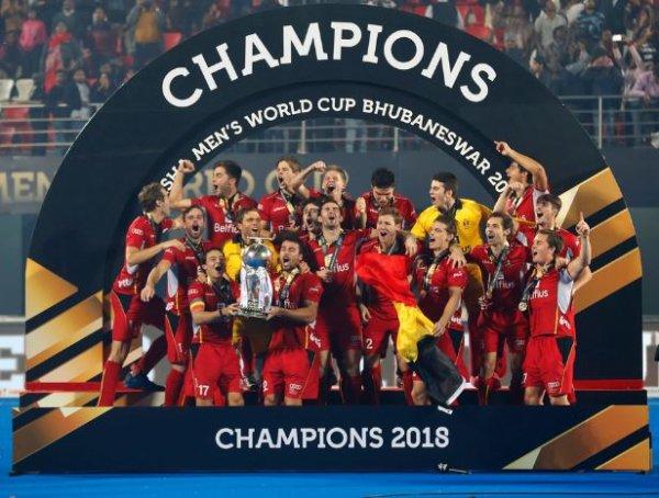 La Belgique est Championne du Monde de hockey.
