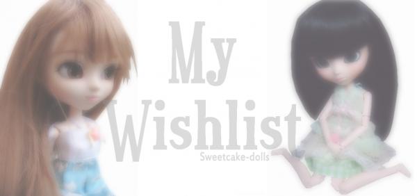My wishlist ! ღ