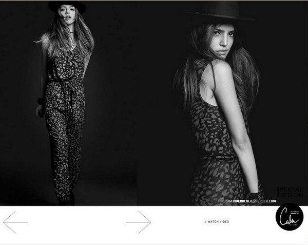. Calu vient de créer sa toute premiere ligne de vêtement féminines. SITE .