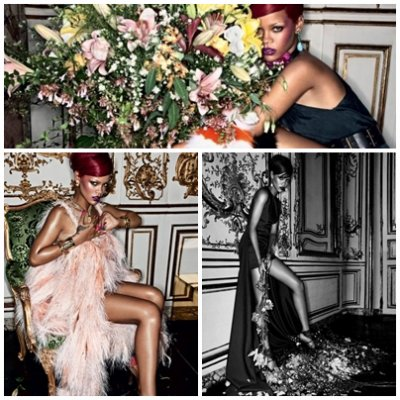 rihanna pose pour le magazine interview