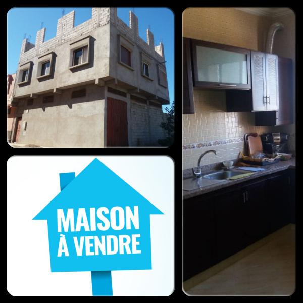 Une Belle Maison Avec projet à Sidi bibi Agadir (Maroc)