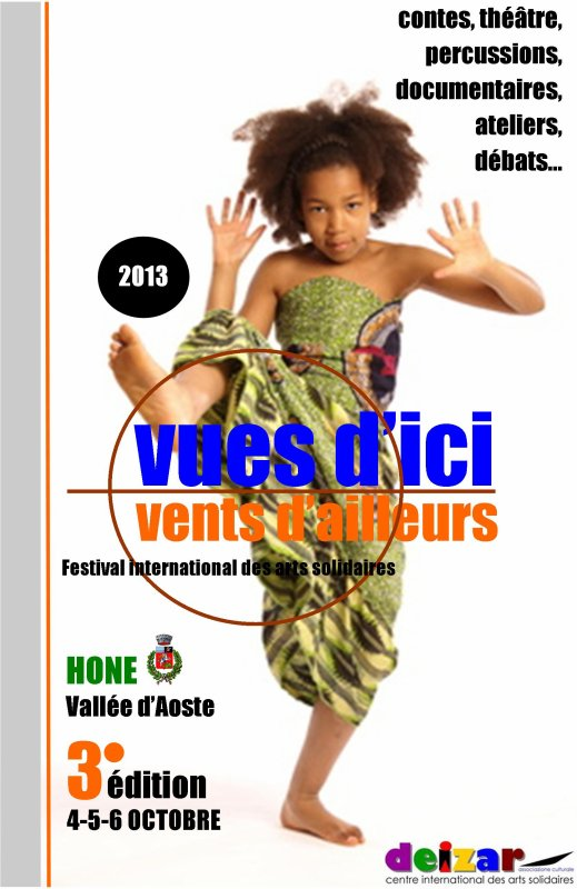 3ème édition VUES D'ICI & VENTS D'AILLEURS - festival international des arts solidaires