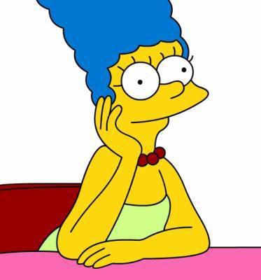 Les personnages: Marge Simpson