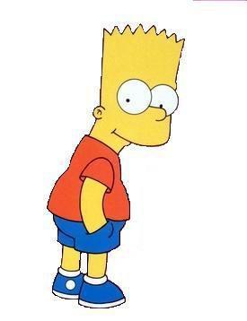 Les personnages: Bart Simpson