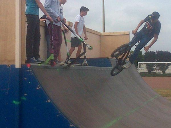 BMX de rampe *-*