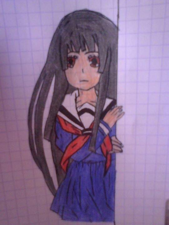 Mon dessin d'Ai Enma :3