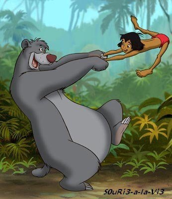 *** *** ιℓ єη ƒαυт ρєυт ρσυя êтяє нєυяєυχ !!! *** Baloo & Mowgli, Le Livre de la Jungle. ***