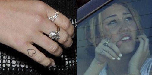 Miley Cyrus a un nouveau tatouage !!