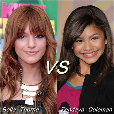 Bella Thorne VS Zendaya Coleman
