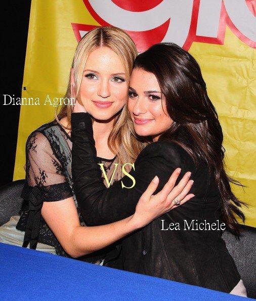 Lea Michele VS Dianna Agron