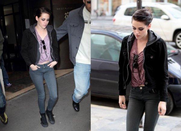 Kristen Stewart (l)
