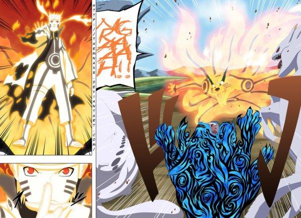 Naruto Mode Contrôle Complet du Chakra de Kurama