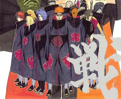L'organisation Akatsuki
