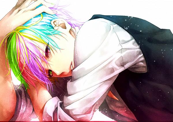 Tel un arc-en-ciel, je suis une combinaison de soleil et de pluie. Une combinaison de bonheur et de tristesse. Une sourire a l'envers qui brille de mille couleurs.