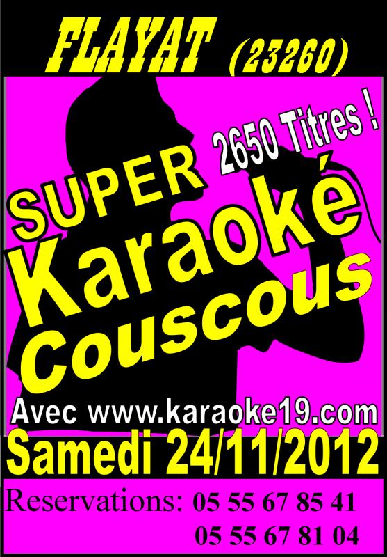 Karaoké  Couscous a Flayat