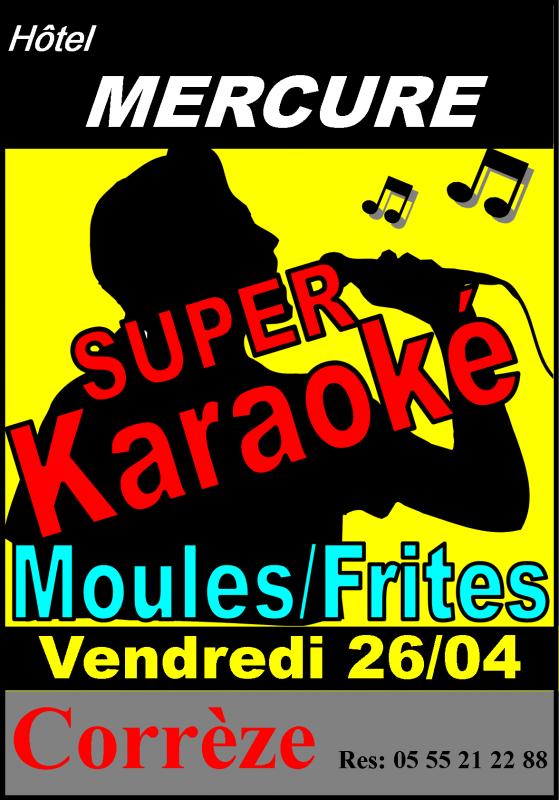 Super Karaoké a l'Hotel Mercure a Corrèze