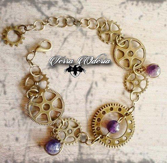 """""""Time Pearls"""" Bijoux Steampunk"""
