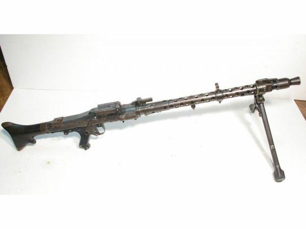 Nouvelle venue dans la famille - MG34 avec tous ses Waffenamt, fabriquée en 1942 ( cof ).