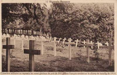 photo du cimetière de Baranzy