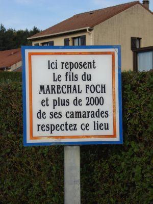 cimetière de Gorcy (France) Meurthe/Moselle