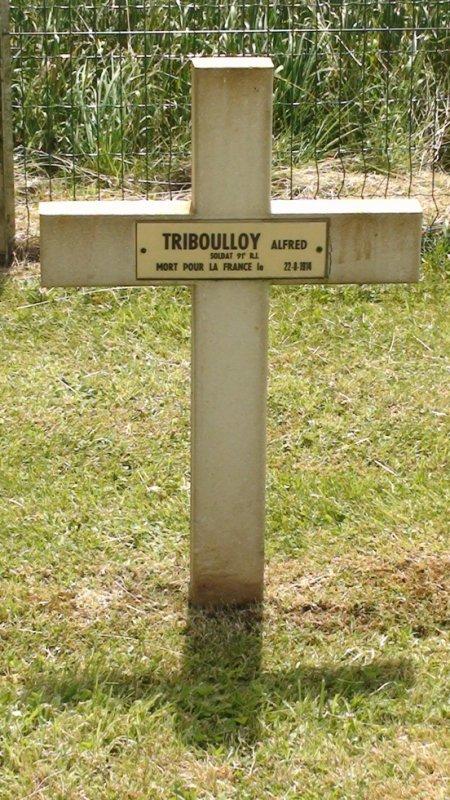 recherche pour monsieur TRIBOUILLOY