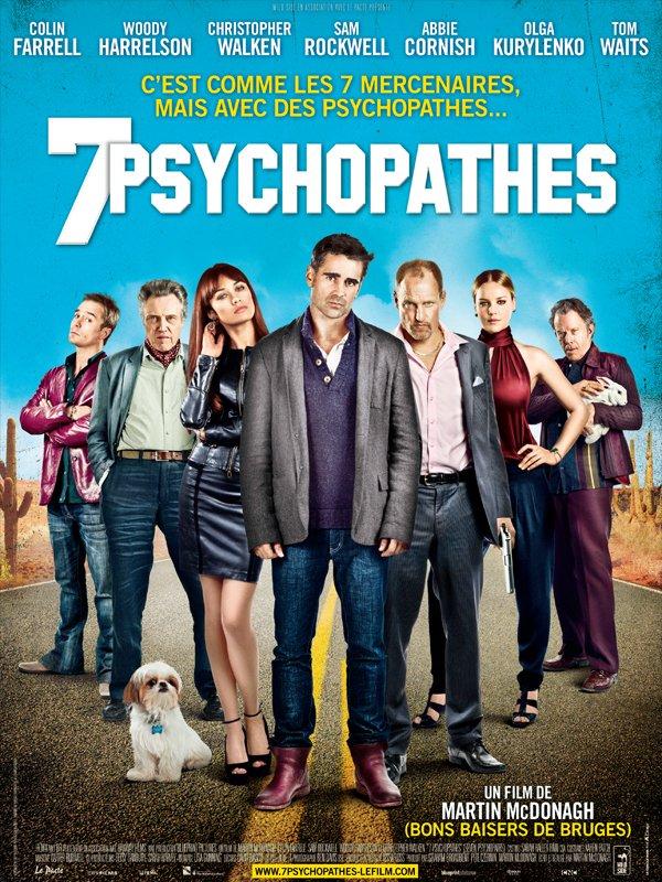 """Vus sur """"Sept psychopathes"""""""
