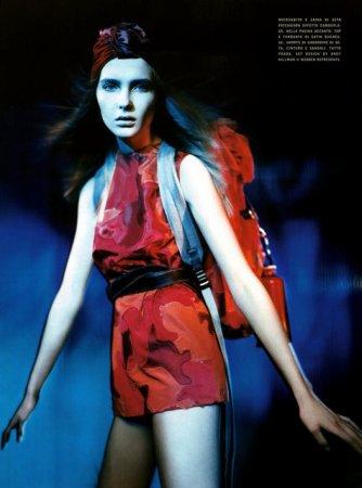 SNEJANA ONOPKA - Vogue Italie - Mars 2007