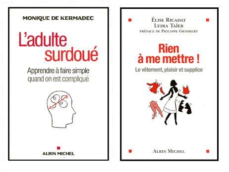Quelques couvertures chez Albin Michel