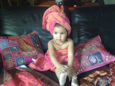 et ma princesse je l ai retrouvee toujours aussi belle !!! que je l aime!!!!!