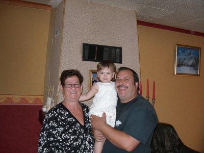Photos souvenirs chez papi et mamie