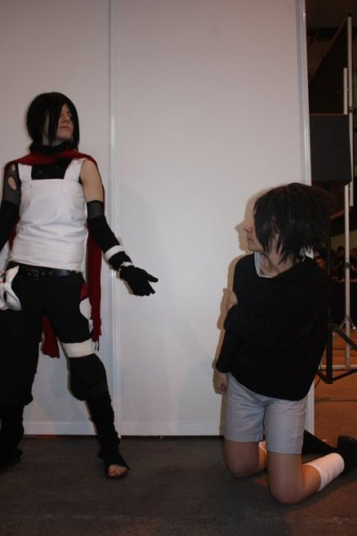 Sasuke flash back ( version manche longue )
