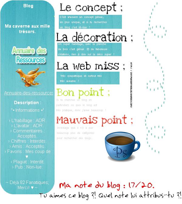 09 - Critique Annuaire-Des-Ressources.