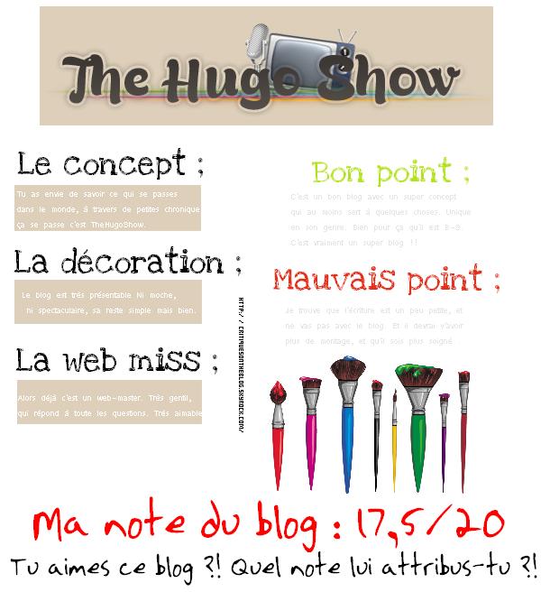 17 - Critique TheHugoShow