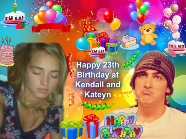 Happy 23th Birthday Kendall and Katelyn !!!!!!!!!!!!