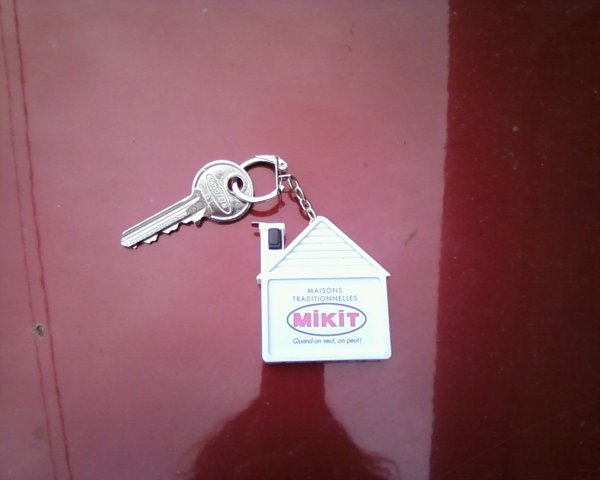 remise clefs du garage